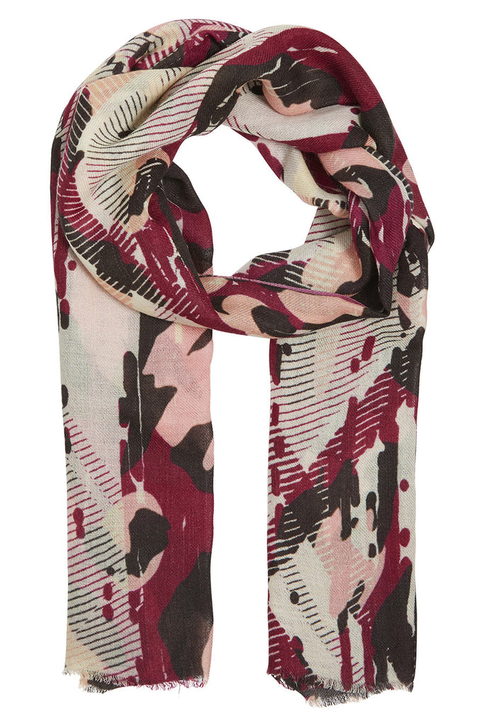 Addie Abstract Geo Scarf