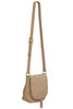 Cecile Taupe Cross Body Bag