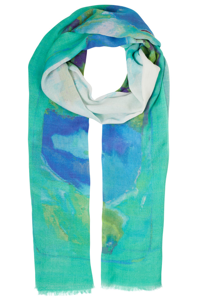Shafaye Watercolour Scarf