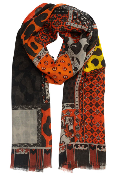 Shelby Animal Pattern Scarf