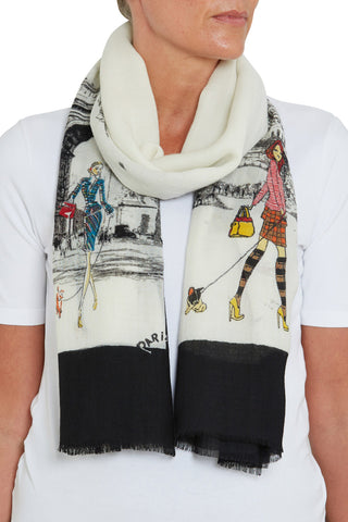 Sharlotte Paris Scarf