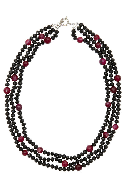 Mahlee Crystal Bead Necklace