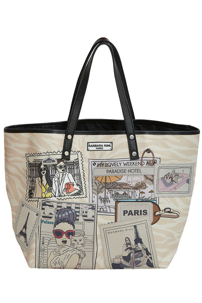 Sara in Cannes Tote Bag