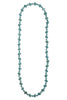 Jasmine Square Turquoise Necklace