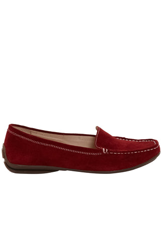 Nantes Driving Loafer Red