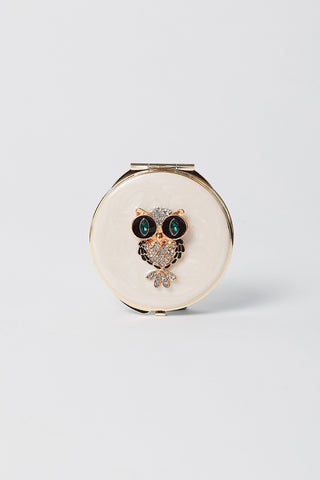 Hootie The Owl Compact Mirror