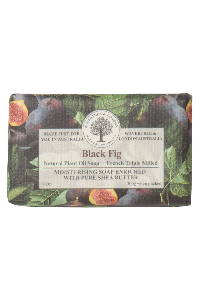 French Triple Milled Soap Black Fig