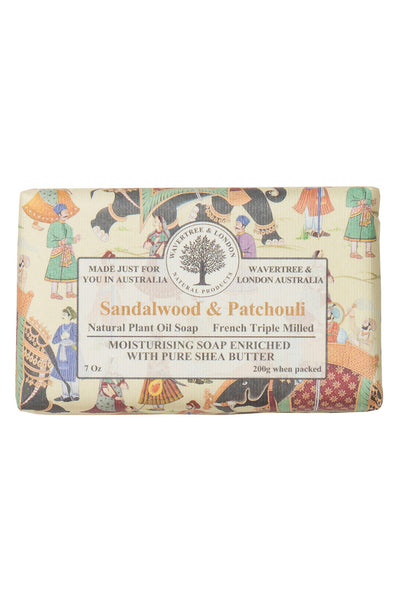Sandlewood & Patchouli French Triple Milled Soap Bar