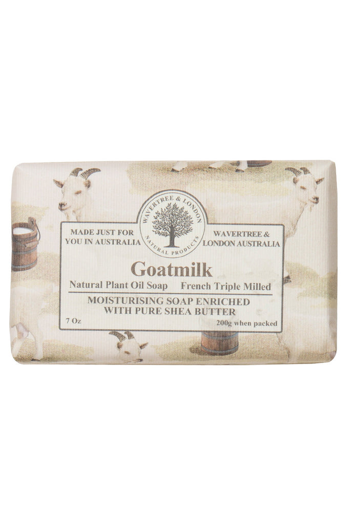 French Triple Milled Soap Goats Milk