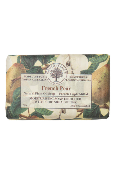 French Triple Milled Soap French Pear