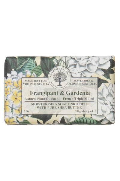 French Triple Milled Soap Frangipani