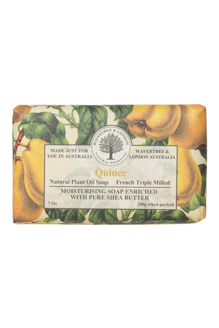 French Triple Milled Soap Quince