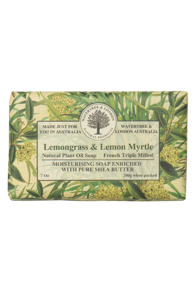 French Triple Milled Soap Lemongrass