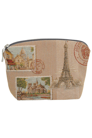 Paris Map Tapestry Bag