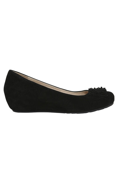 Natalie Black Court Shoe