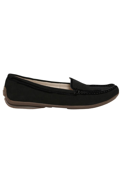 Black Nantes Driving Loafer