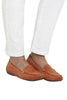 Orange Nantes Driving Loafer