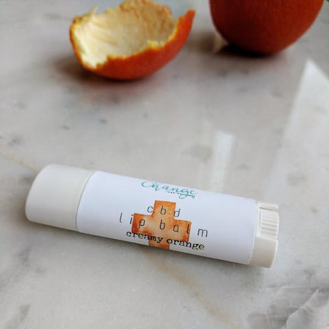 Creamy Orange CBD Lip Balm