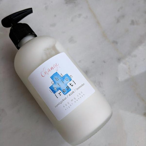 soothing cbd body lotion