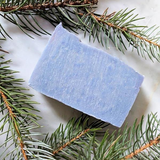 cbd face soap in eucalyptus mint