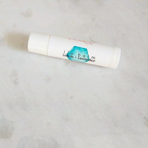 Lemon + Lavender Lip Balm