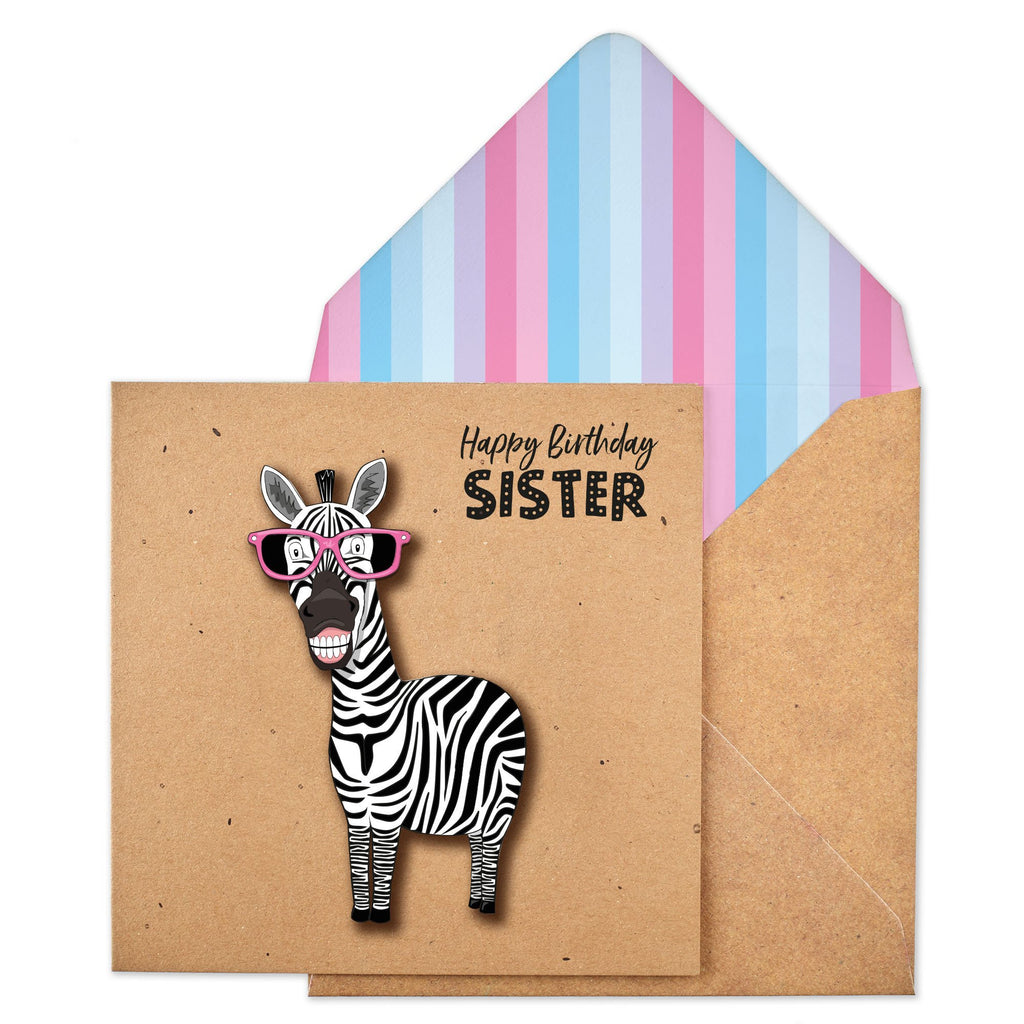Happy Birthday Sister Zebra