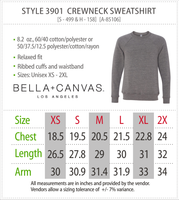 Resting Witch Face Halloween Bella Canvas Sweatshirt - Boutique Bella Canvas Sweatshirt