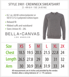 So I Creep Ghost Halloween Bella Canvas Sweatshirt - Boutique Bella Canvas Sweatshirt/ Natural Sweatshirt / Fall Style