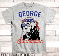 4th Of July President Drinking T-Shirts / Unisex Tee / Funny Men's Graphic Tee / Group Tees / Funny July 4th Tees