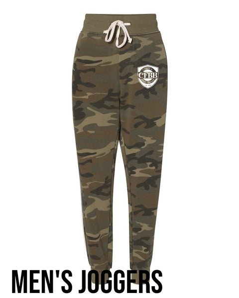 MEN'S CFBB Camo Joggers / Camouflage Joggers / Crossfit Blue Blood
