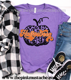 Halloween Pumpkin Tee - Bella Canvas/Comfort Colors - Youth and Adult Sizing Available