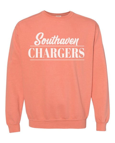 Southaven Chargers Comfort Colors Sweatshirts