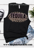 Tequila is My Spirit Animal- Muscle Tank- Bella Canvas