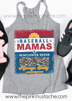 Baseball Mamas and Sunflower Seeds - Always Salty Tank Top