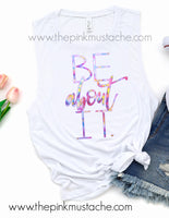 Be About It Tank - Inspirational Tanks for Women / Workout Tanks for Women