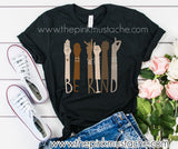 Be Kind in Sign Language Tee/ Be Kind To One Another / Unisex Bella Canvas Tee / 2T-Adult XXXL