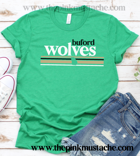 Buford Wolves Inspired Tee / Buford Football Shirt/ Bella Canvas Shirt