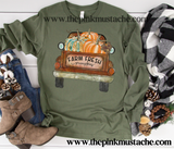 Pumpkin Patch Long Sleeved Bella Tee/ Hello Fall Shirts Youth and Adult Shirts /Fall Style