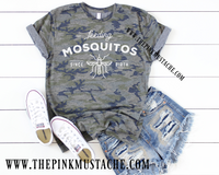 Feeding Mosquitos Since Birth Camouflage T-Shirt