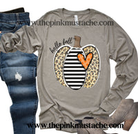 Hello Fall Long Sleeved Bella Tee/ Hello Fall Shirts Youth and Adult Shirts /Fall Style