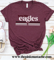 Horn Lake Eagles Shirt / DC -Desoto County Schools / Mississippi School Shirt