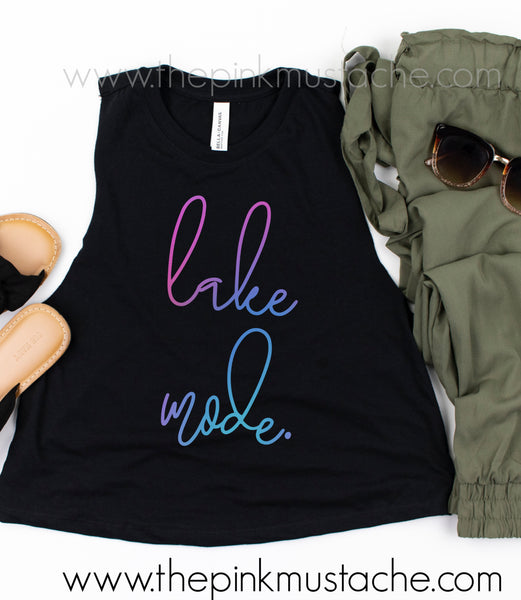 Lake Mode Summer Tank Top / Cropped Tank Top
