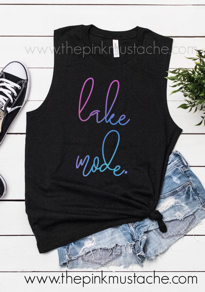 Lake Mode Summer Tank Top / Muscle Tank