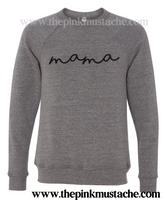 Mama Bella Canvas Sweatshirt - Boutique Bella Canvas Sweatshirt/ Natural Sweatshirt / Mom Style