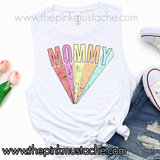 Mommy Super Hero Inspired Tank / Retro Mommy Shirt / Gifts for Mom / Mother's Day