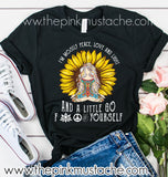I'm Mostly Peace, Love, and Light and a Little Go F#$& Yourself Tee - Bella Canvas Tee