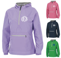 Charles River Monogrammed Lined Jacket Pullover/ XXS- XXXL