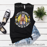 She's A Sunflower, Strong and Bold and True To Herself - Hippie T-Shirt/ Racerback, Crop, or Muscle Tank
