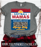 Softball Moms and Sunflower Seeds - Always Salty Tee