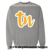 TN Tennessee Comfort Colors Sweatshirt /Tennessee State Sweatshirt / TN Shirt